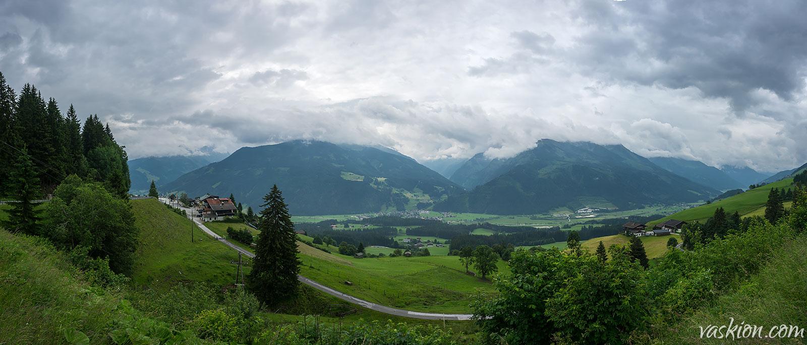 Алпийска панорама